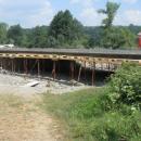 Мост преко Луковске реке, ID 2125 - радови на рехабилитацији